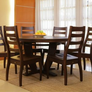 1302W & Belle Round Table
